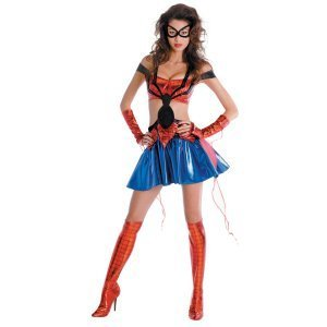 Costumes For All Occasions Dg50265b Medium Spidergirl Prestige 8-10 Sassy DG50265B