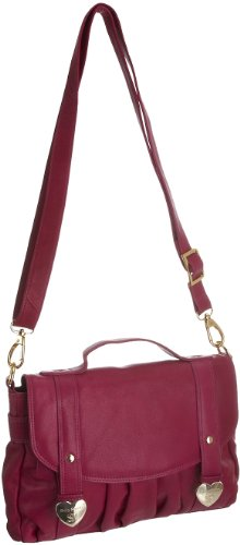 Suzy Smith Womens ZB002925GL Handbag Raspberry