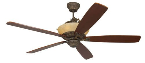 Monte Carlo Fans Royal Danube Ceiling Fan 5RDRRB, Roman Bronze Finish