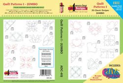 Amazing Designs ADC-40J Quilt Patterns I by Amazing Designs