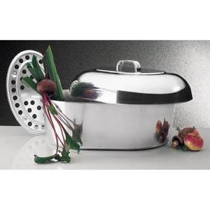"""18"""" Oval Covered Roaster"""