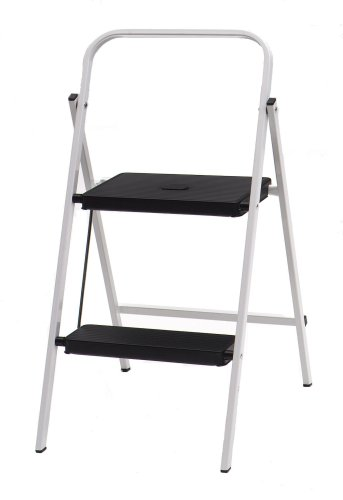Buy TriCam Skinny Mini 200-Pound Duty Rating Two-Step Stool HSP-2W