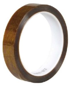 "3M Polyimide Tape, 92, Scotch, 1/2"" X 36 Yards, High Temp."