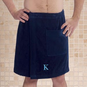 Embroidered Men'S Bath Wrap