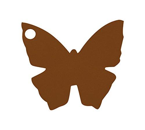 Chal-Etiquette-porte-nom-papillon-chocolat-x10
