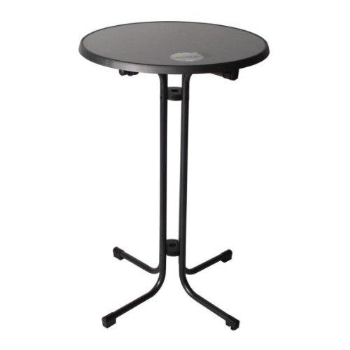 Stehtisch, Tisch, Partytisch, Festzelttisch, 70 cm, Sevelit Platte, anthrazit