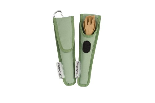 To-Go Ware RePEat Bamboo Kids Utensil Flatware Set (4pk) KIWI