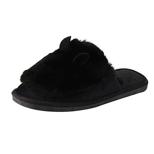overdose-femmes-couple-chaussures-accueil-sol-doux-pantoufles-femme-chaussures-en-coton-38-39-noir