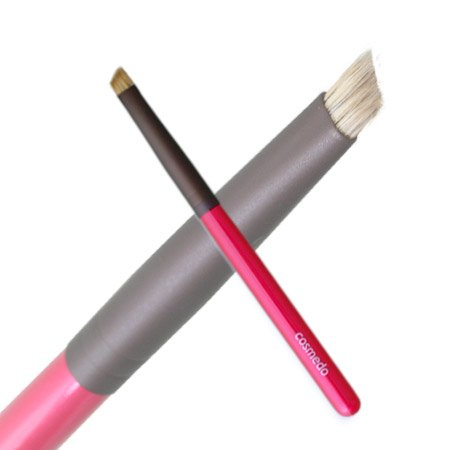 匠の化粧筆コスメ堂 熊野筆メイクブラシ ショートタイプ アイブローブラシ 毛質:ウォーターバジャー