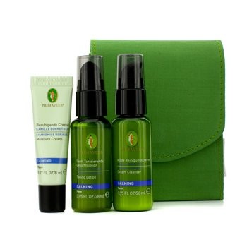 Primavera Calming Face Care Starter & Travel