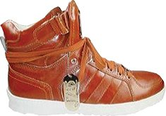 JUMP Men's Fender High-Top Sneaker,Red Pearl Patent,8 D US