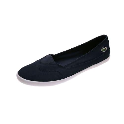 Lacoste Ballerina Rieti Dark Blue/White Schuhe