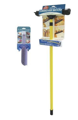 Everholder FURemover Broom and Brush Combo