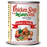 Chicken Soup for the Dog Lover's Soul Canned Food for Adult Dogs, Chicken Formula (Pack of 24, 13 Ounce Cans)