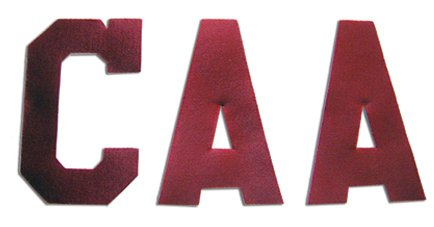 A&R Sports Captain Letters, Red