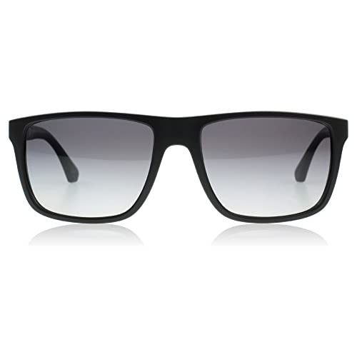 Emporio Armani Men's EA 4033 Modern Wayfarer Sunglasses
