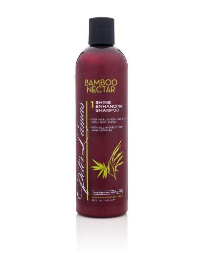 Peter Lamas Bamboo Nectar Shine Enhancing Shampoo, 12 Fl Oz, Salon Pack, 6 Count