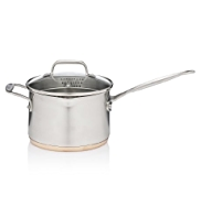 18cm Copper Base Saucepan
