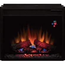 Fireplace Twin Star Classic Flame 23EF023GRA 23 Inch Electric Fireplace Insert