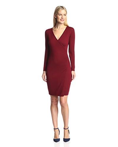 Susana Monaco Women's Wrap Sweater Dress