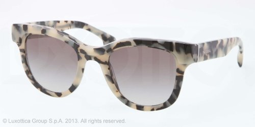 prada Prada PR27PS Sunglasses-KAD/0A7 White Havana (Gray Gradient Lens)-49mm