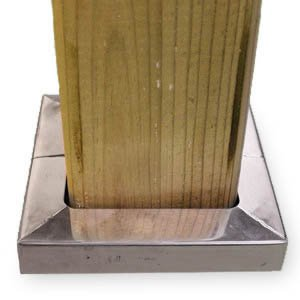 Post Skirt - 4x4 Posts - Stainless Steel