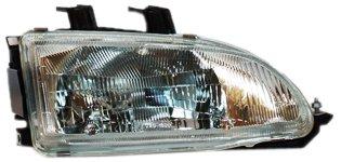 TYC 20-1690-00 Honda Civic Passenger Side Headlight Assembly (Honda Civic 92 95 Headlights compare prices)