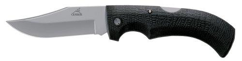 Gerber 46069 Gator Clip Point, Fine Edge Knife