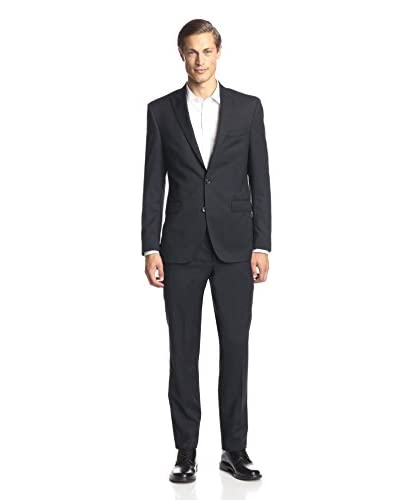 Kenneth Cole New York Men's Tonal Stripe Suit
