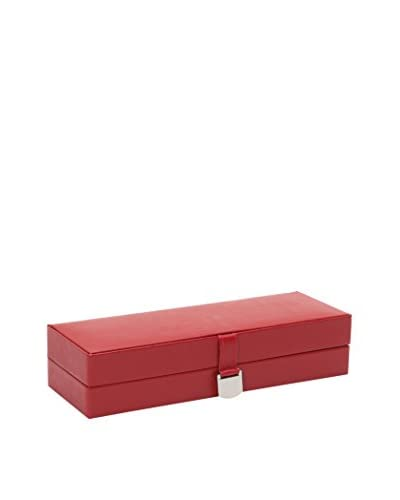 WOLF Red Jewelry Safe Deposit Box