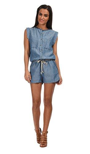 Pepe Jeans - Short jumpsuit MIKELE - Woman - S - Blue