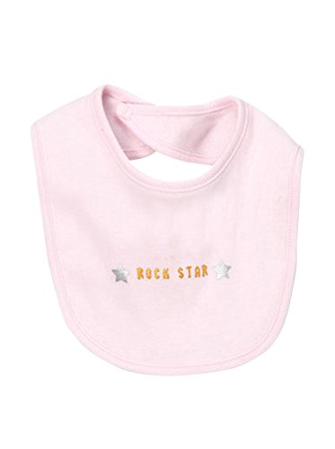 Rock Star   cool baby bib, pink