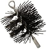 "IMPERIAL MFG GROUP 6"" Round Poly Chimney Brush Polypropylene Bristles"
