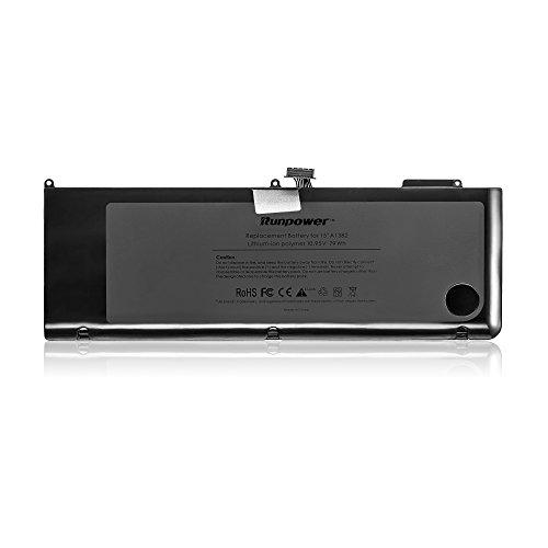 """Runpower nuova batteria del computer portatile per Apple A1382 A1286 (solo per i Core i7 All'inizio del 2011 alla fine del 2011 alla metà del 2012) Unibody MacBook Pro 15 """"+ Due cacciaviti Free - 18 mesi di garanzia [Li-Polymer a 6 celle 79Wh/7200mAh]"""