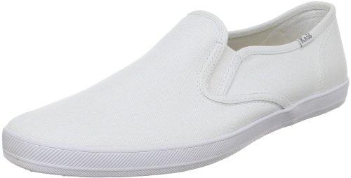 Keds Men's Champion Original Canvas Slip-On Sneaker,White,8 M US (Keds Men Champion compare prices)