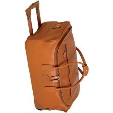 Bric's Luggage Life Pelle 21 Inch Carry On Rolling