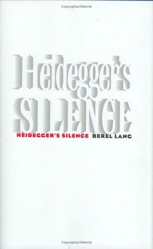 Heidegger'S Silence