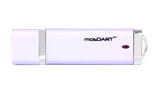 mosDART(TM) 64GB USB 3.0 Flash Drive Fast Transfer High Speed, White (Customized Flash Drive compare prices)