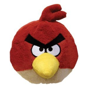 Angry Bird 4inch Angry Inch Mini Plüsch mit Sound - Roter