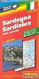 echange, troc Walter Siebel - Sardinien 1 : 250 000. Hallwag Euro Map.