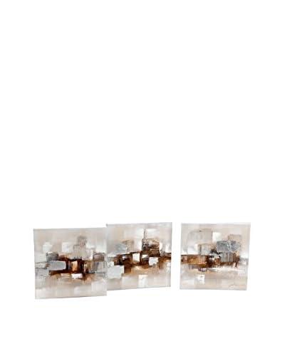 Korb Set De 3 Lienzos Modernos Beige