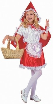 Kid's Lil' Red Riding Hood Costume (Size:Lg 12-14)