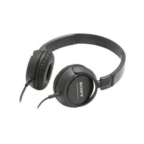 Sony Mdr-Zx100 / Mdrzx100/Blk Black Headphone - 30Mm Driver Lightweight/Closed Swivel