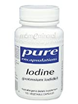 Iodine (potassium iodide) 120 cap by Pure Encapsulations