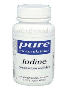 Iodine (potassium iodide) 120 cap by Pure Encapsulations