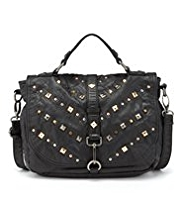 Limited Edition Studded Satchel Bag