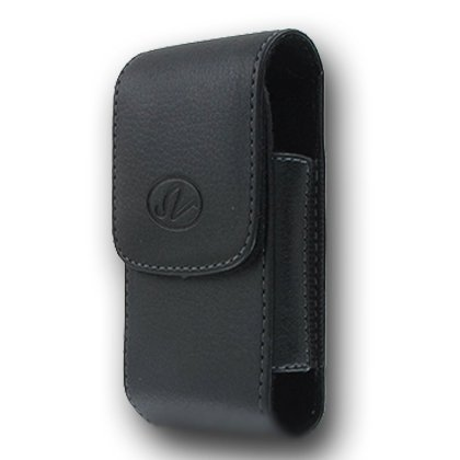 Premium Vertical Leather Pouch Case with Belt Clip for Apple iPhone 4S 4-S (Iphone 4 Case Belt Clip Leather compare prices)