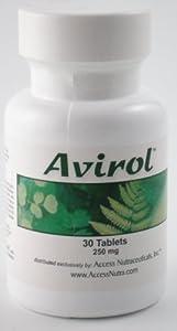 Avirol (monobril) Anti Viral Anti Biotic Anti Fungal (30ct)