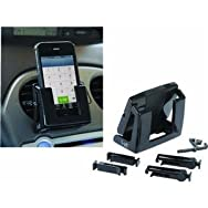 Custom Accessories10929Cell Phone Holder-BLACK IPHONE HOLDER