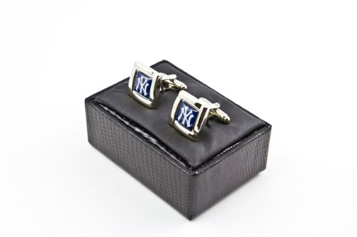 MLB New York Yankees Square Cuff Links